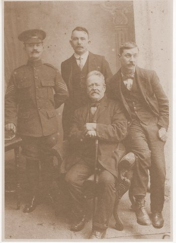 William Charles Easterbrook, Edward Ealy, George Shannon Easterbrook, Henry Walter Easterbrook