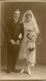Alfred Haynes and Dorothy Capewell wedding